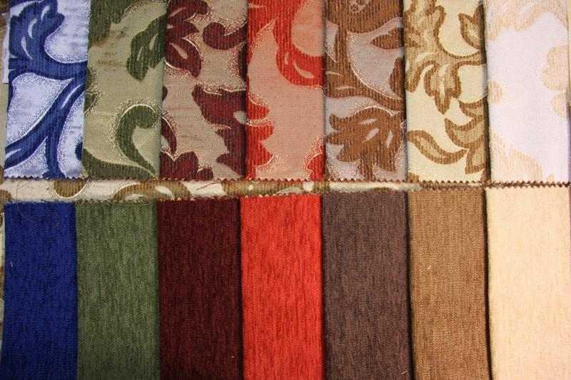 Как правильно выбрать ткань для обивки дивана, советы по выбору